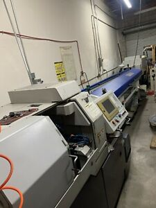 Lot Of Two 2 Citizen L20vii Cnc Swiss Lathe C axis Live Tool Sub Spindle