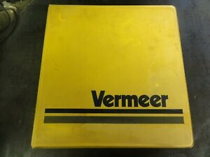 Vermeer T 850 Trencher Service Operator s And Parts List Manual