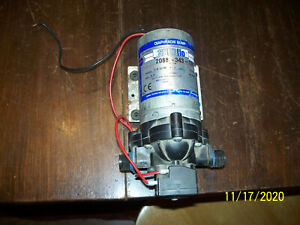 Pentair Shurflo Pump 2088 343 135 12v Diaphragm Pump 3 0 Gpm