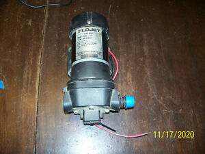 Flojet 4300 143 Quad 12v Dc Diaphragm Pump 4 9 Gpm 45 Psi