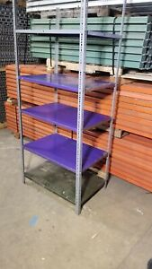 Used Industrial Shelving For Sale Buy Now