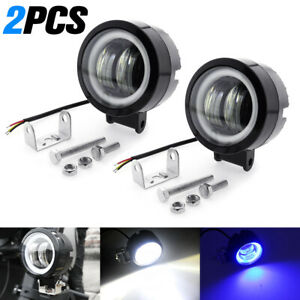 2x Led Car Truck Work Spot Light Motorcycle Headlight Fog Lamp Suv Atv Universal
