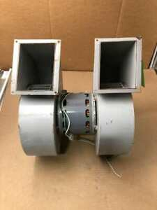 Kooltronic Hf2f015n Double Centrifugal Blower 1230 1470rpm 1 2hp 115v