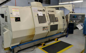 2001 Okuma Lt 15my Cnc Lathe Live Tool Y axis Twin Spindle Turret