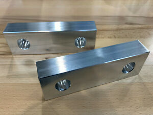 6 Aluminum Reversible Soft Jaw Set 6 Vise 1 1 8 Thick Kurt Teco