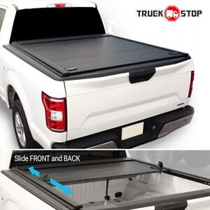 2019 2021 Tacoma 5ft Bed Waterproof Hard Roll Retractable Tonneau Cover Fit Trd