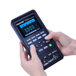 Battery Handheld Portable 2 ch 40mhz Lcd Digital Oscilloscope Dmm Usa Stock
