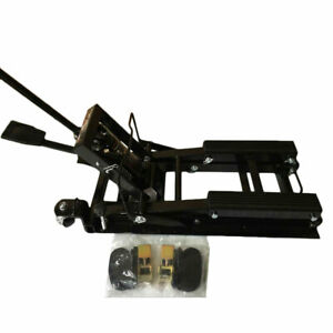 Atv 1500lbs Motorcycle Dirt Bikes Scooter Crank Stand Atv Steel Lift Jack Stand