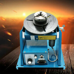 Rotary Welding Positioner Turntable Table Foot Switch Automatic 2 10 R min