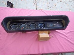 1964 65 Pontiac Gto Lemans Tempest Dash Assembly With Heater Control