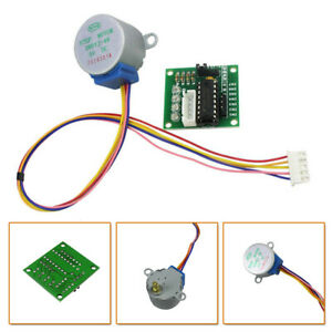 2x Dc 5v Stepper Motor 28byj 48 W Uln2003 Driver Test Module Board For Arduino