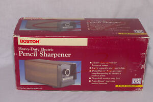 Hunt Boston Heavy duty Electric Pencil Sharpener Model 17 1700 Black Made In Usa