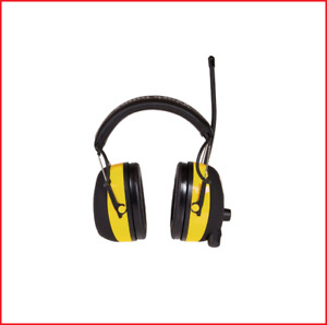 New Worktunes Digital Hearing Protector With Am fm Stereo Radio