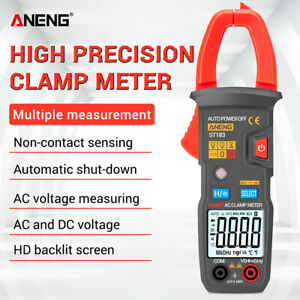 Aneng St183 True Rms Digital Clamp Multimeter Ac dc Voltage Current Meter Usa