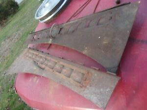 1941 1946 41 42 46 Chevy Gmc Chevrolet Pickup Truck Side Hood Panel 1945 1942