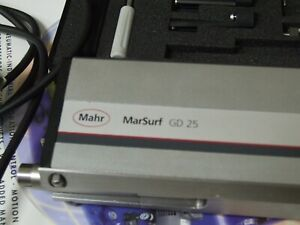 Mahr Srurf Gd 25 Surface Roughness Gage Federal Stand Machinist Profilometer