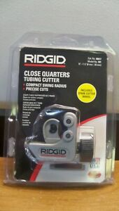 New Ridgid 101 40617 Close Quarters Tubing Cutter 1 4 1 1 8 Free 1st Cls S h