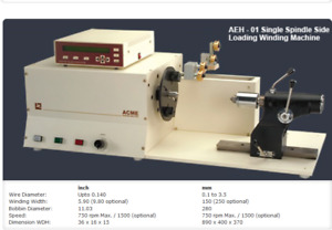 Aeh Linear Transformer Coil Winding Machine And Accessories