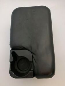 98 04 Ford Ranger Center Console Compartment Armrest W Cup Holder Leather Black