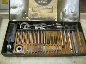 Ko Lee Knock Out R204 Valve Seat Insert Cutter Tool Set