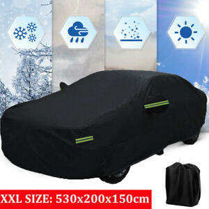 Black Full Sedan Car Cover 420d Waterproof For Bmw 5 Series Gt 6 Series 7 Series