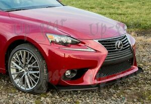 For 14 16 Lexus Is200t Is250 Is350 Base Real Carbon Fiber Front Bumper Body Lip