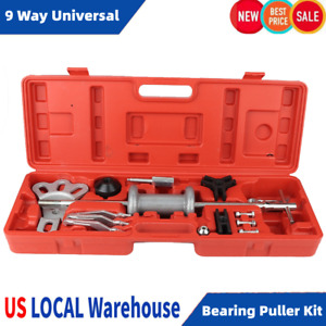 9 Way Universal Slide Hammer Set Bearing Puller Internal Extractor Set