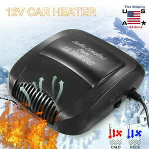 200w Dc 12v Electric Car Heater Car Fan Heater Heating Warmer Defroster Demister