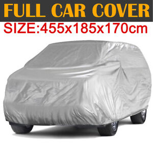 Medium Full Suv Car Cover Sun Uv Dust Snow Resistant Protection Fit Up To 179