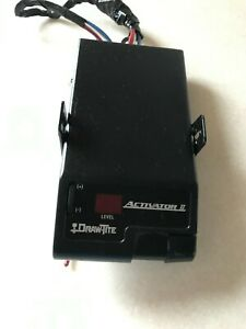 Draw Tite Activator Ii 5500 Towing Adjustable Electric Trailer Brake Control