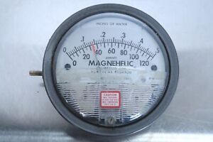 Dwyer Magnehelic Pressure Gauge Gage Pascals Inch Of Water