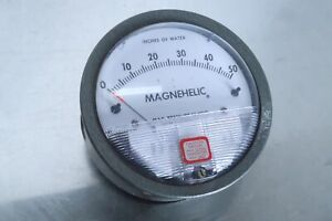 Dwyer Magnehelic Pressure Gauge 0 50 Inches Of Water