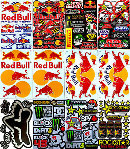 Rockstar Energy Metal Mulisha Motocross Yamaha Stickers Decal Racing Sticker 12