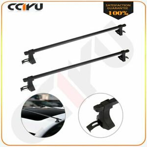 54 Universal Top Roof Rack Cross Bars Luggage For 4 Door Well Made Suv Truck