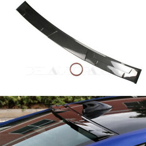 Fit For 2018 20 Honda Accord Rear Window Roof Wing Spoiler Carbon Fiber Pattern