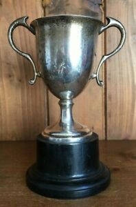 Not Engraved Silver Plate Trophy Loving Cup Trophies Trophy
