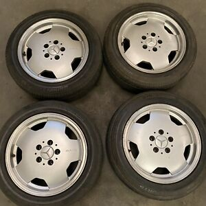 Mercedes Amg Aero Monoblock 16 Wheels Rims Oem Genuine 16x7 5 17