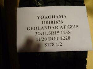 2 New Yokohama Geolander At G015 32 11 5 15 113s Tires 110101626 Q0