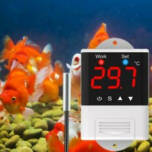Temperature Controller Cooling Heat Thermostat For Incubator Aquarium 110v 220v