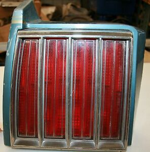 79 80 Pontiac Grand Prix Lh Tail Light