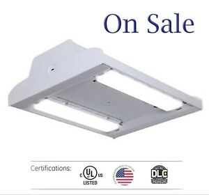 Led Linear High Bay 12000lm Warehouse Shop Gym Commercial Light Fixture 4000k