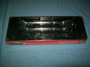 New Snap On 21 22 24 Mm 12 Point Box Ratchet Wrench Set Oxrm703 Unused