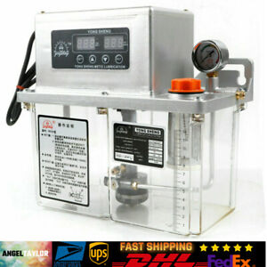 Digital Display Automatic Electric Lubrication Pump Oiler Oil Pump 4l Best Sell