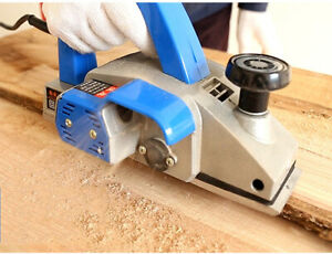 Electric Flip Planer Woodworking Hand Planer Board Chopping Household Tool 220v
