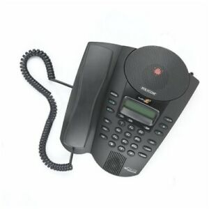 Polycom Soundpoint Pro Se 225 2 line Professional Conference Phone W Caller Id