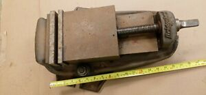 Bridgeport Machinist Vice Swivel Base Smooth Excellent Condition