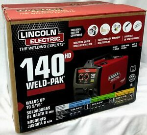 Lincoln Electric K2514 1 140 Amp Weld Pak 140 Hd Mig Wire Feed Welder