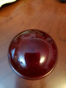 Red Glass Lens To King Bee Hy power No 86 89 90 91 Tail Lamp Tag Light American