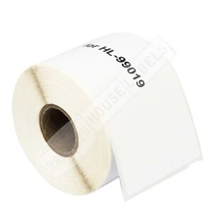 6 Rolls Dymo Compatible 99019 Postage Labels 150pcs roll 2 5 16 X 7 1 2