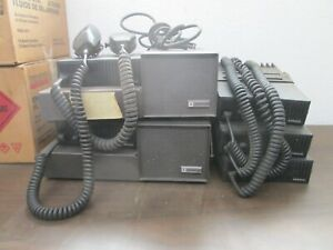 Ef Johnson 242 8604 5 Radio s With Mounting Bracket And Mic 2 Power Supply
